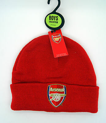 Arsenal Official Knitted Beanie Hat 3-6 Years