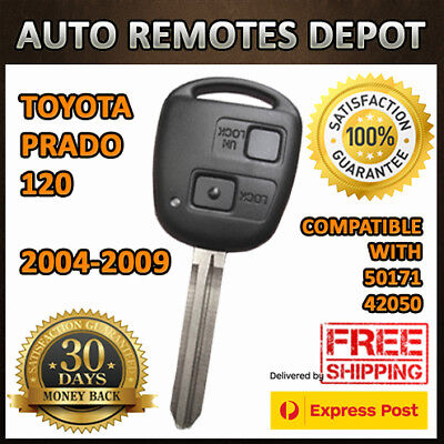 Remote integrated Key FOB for Toyota Prado 120 2004-2009 electronic board & chip
