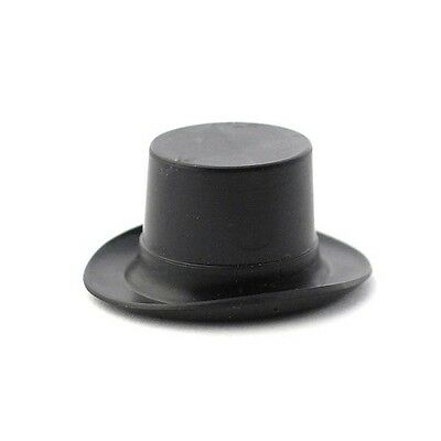 Plastic Top Hat , Miniature Tophat Dolls House Miniatures Clothing ,