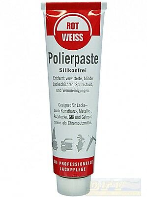 ROTWEISS Polierpaste Lackpolitur 100 ml Tube