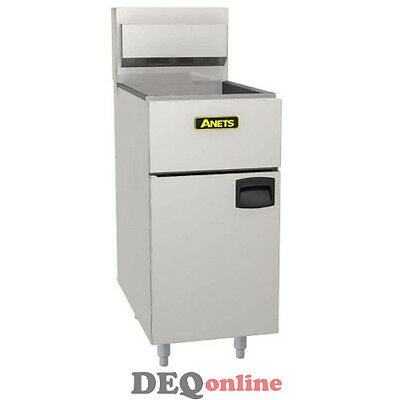 Anets SLG40 SilverLine 14 Gas Fryer - Deep Fryer LP (Liquid Propane)
