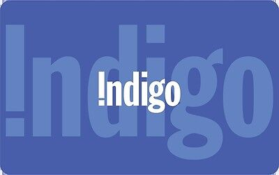 Indigo Gift Card - $25 Mail Delivery