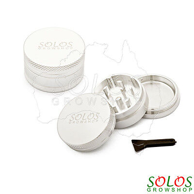 Herb Tobacco Grinder Mill 3pcs Lightweight Aluminium Pocket Size