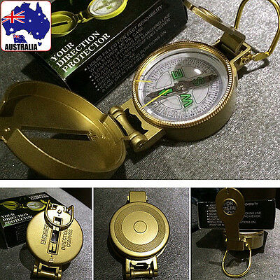 Military Pocket Survival Alloy Compass Travel Hiking Camping Trip OCOMP 0101