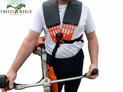 Strimmer/brushcutter comfortable double breasted harness,fits STIHL,HONDA others
