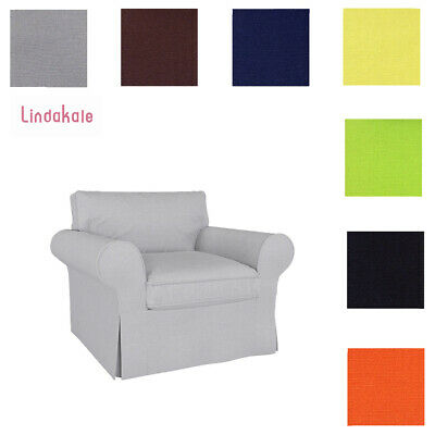 Custom Made Cover Fits IKEA Ektorp Chair, Replace Chair Cover, Slipcover