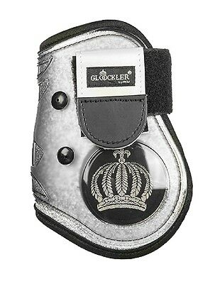HKM New Fetlock Boots Silver Royal By Gloockler Protection Shock Absorbing 5015