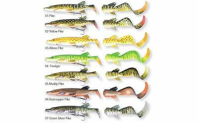 Savage Gear 3D Pike Hybrid Lure 17cm - 25cm Soft Lure & Tails