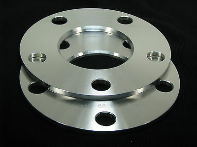 2 | 12Mm| 5X4.5 | Hub Centric | Ford Lincoln Flat Wheel Spacers Spreaders | 5Lug