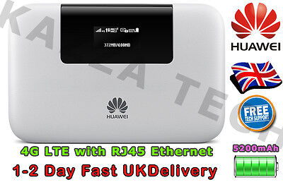 HUAWEI E5770 UNLOCKED LTE 4G RJ45 Mobile MIFI WIFI Pro Wireless Modem SimFree
