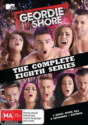 GEORDIE SHORE Complete Season TV Series 8 DVD Eight R4 New & Sealed Box Set