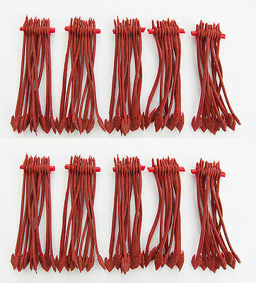 MDI Red Soft Rubber Pole Winder Anchors Super Stretch for Pole Fishing Rigs