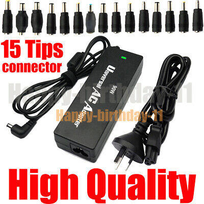 90W Multi Universal Laptop Notebook AC Charger Power Adapter Supply 15 Size Tips