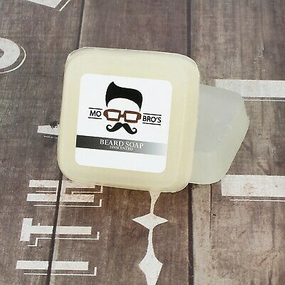 Mo Bro's - Unscented Premium Beard & Skin Soap, Conditioner & Wash 80g