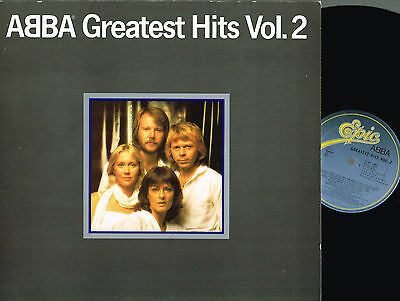 ABBA Greatest Hits V.2 LP Gatefold PRINTED INNER Epic 1979 HOLLAND EPC10017 EXLT