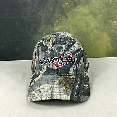 BOWTECH Mossy Oak Camo Baseball Hat Cap Archery Hunting Shooting outfitter New