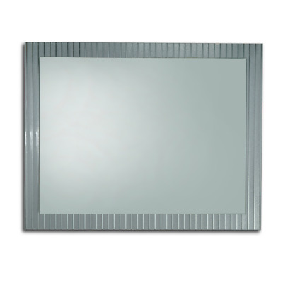 BATHROOM MIRROR 1200mm x 800mm HUNG VERTICAL or HORIZONTAL BEVELLED EDGE - E045