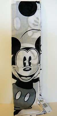 Disney Parks Vintage Mickey Black & White Scarf New With Tags