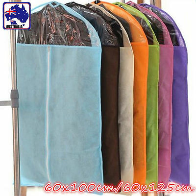 Garment Cover Storage Bag Dustproof Breathable Dress Suit Coat Clothes HCODR 60