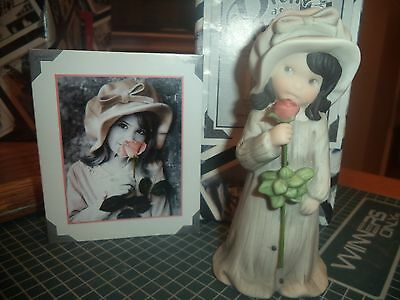 Kim Anderson Figurine 535680 You Give So Much Just Being You Girl Holding Rose