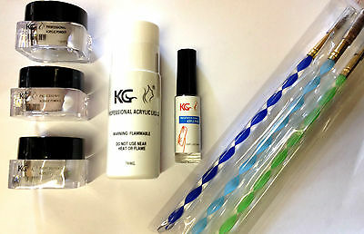 Krazy Girl Professional Acrylic Brush / Powder / Liquid / Primer **choose Type**