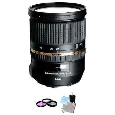 Tamron SP 24-70mm f/2.8 DI VC USD Lens for Canon + UV Kit & Cleaning Kit