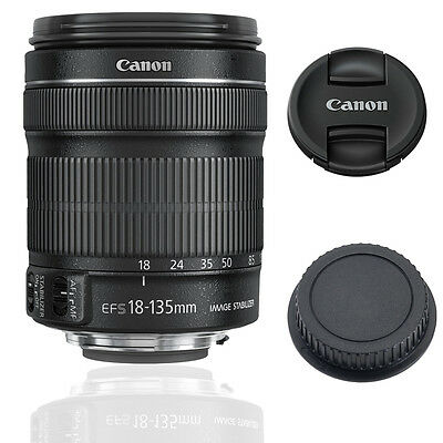 USA Canon EF-S 18-135mm f/3.5-5.6 IS STM - Brand New USA
