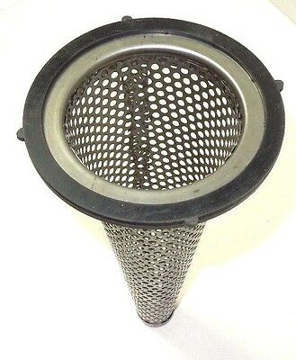 "FUNNEL STRAINER 4"" 304S/S w/BUNA GASKET for use with 4"" Pard D hose fitting FS40"
