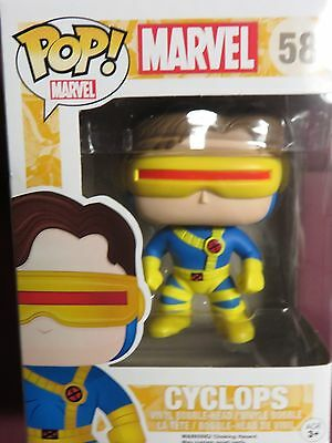 "BRAND NEW POP MARVEL, ""X-MEN"", CYCLOPS, FOUR INCH VINYL FIGURE"