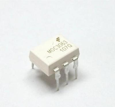 3pcs MOC3063 OPTOCOUPLER TRIAC 600V DIP-6 ZC New