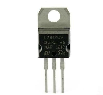 10pcs L7812CV L7812 KA7812 LM7812Voltage Regulator 12V 1.5A TO-220