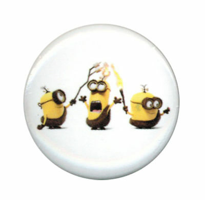 Despicable Me Minions Fire 1.25 Inch Button