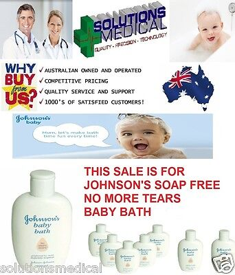 JOHNSON'S SOAP FREE BABY BATH 200ml BOTTLE NO MORE TEARS