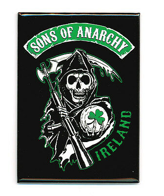Sons Of Anarchy Ireland Logo Magnet