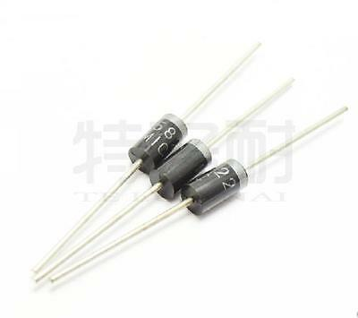 100pcs 1N5822 DO-27 40V 3A SCHOTTKY DIODE NEW