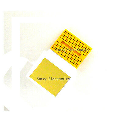 2pcs Yellow Solderless Prototype Breadboard SYB-170 Tie-points for Arduino new