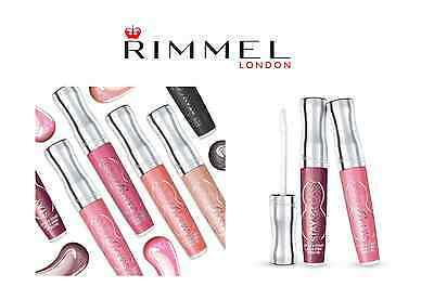 RIMMEL STAY GLOSSY 6HRS LIP GLOSS BRAND NEW Choose your colour