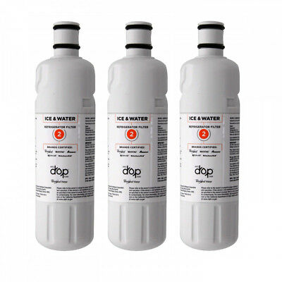 EveryDrop Whirlpool W10413645A EDR2RXD1 FILTER2 Refrigerator Water Filter 3 Pac