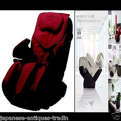 Japanese Family Inada Massage Chair EDION Double-Engine RED FMC-WG2000E2 (RD)