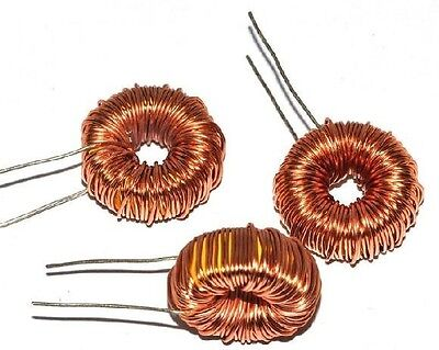 5pcs Toroid Core Inductor Wire Wind Wound for 100uH 6A