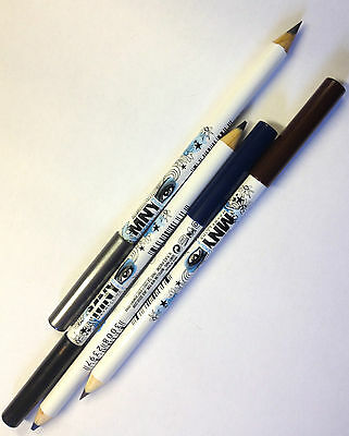 Maybelline Mny My Pencil Eyeliner Black Silver Blue * Choose Your Colour *