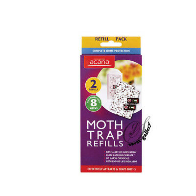 Pack of 2 Refills for the Acana Moth Monitoring Trap Station (lasts 8 weeks)-089