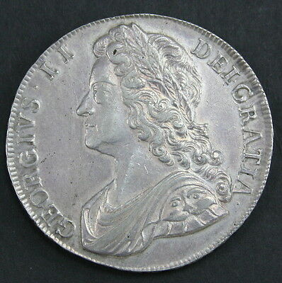 George II 1741 Crown