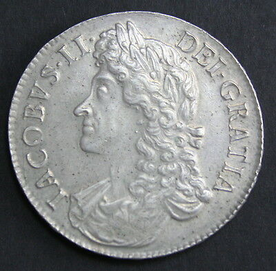 James II 1687 Crown