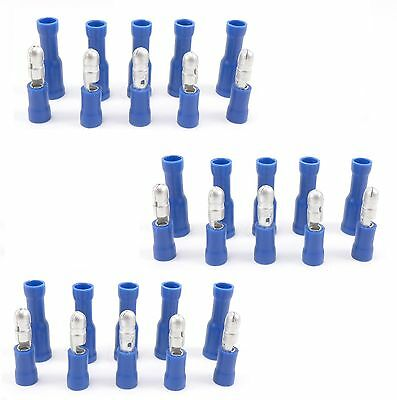 30 Piece 15 Male Female Bullet Adapters Wire Connector Automotive Marine Wiring
