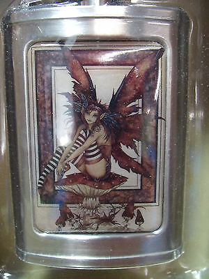 New Amy Brown The Naughty Faery Stainless Steel 3Oz Flask Fairy Faery