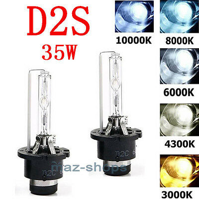 2PCS Xenon 4K 6K 8K 10K HID AC D2R D2C D2S OEM Headlight Replacement Bulbs 35W