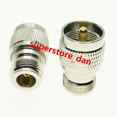 UHF PL259 PL-259 Male Plug to N Type Female Jack RF Connector Adapter