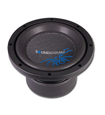 Soundstream Reference R3-8 8 Inch 500W Rms Dual 2-Ohm Car Subwoofer Free Air Sub