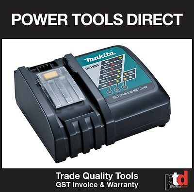 Brand New Makita 18V Cordless Dc18Rc Fast Battery Charger (1.5Amp To 5Amp)